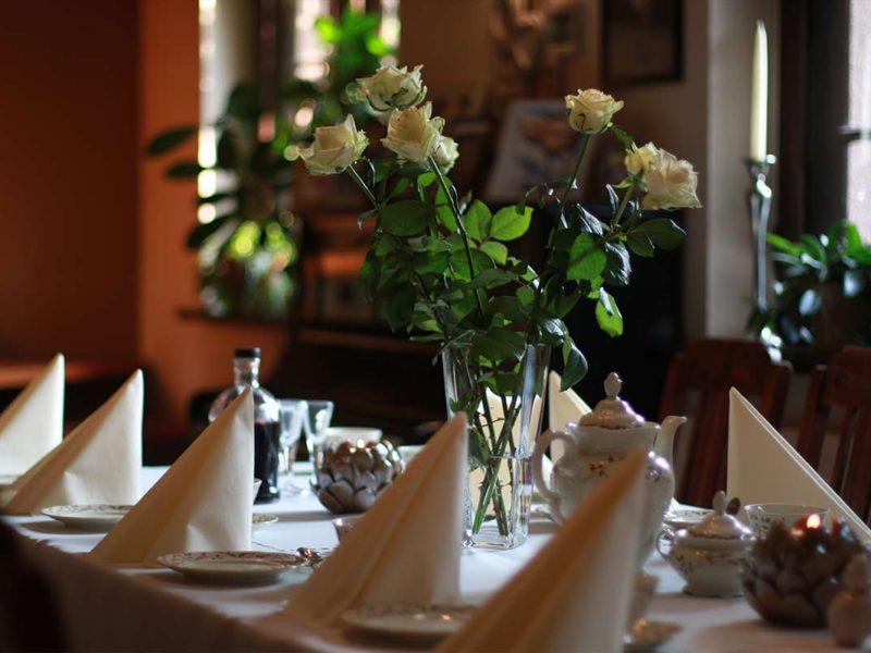 stół restauracja