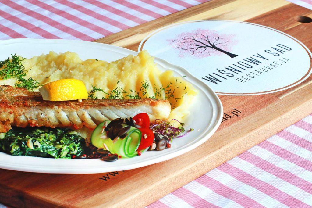 wiśniowy sad menu